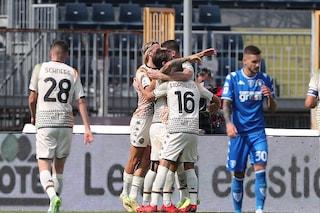 Il Venezia riporta sulla terra l'Empoli: vittoria per 2-1 al Castellani, decidono Henry e Okereke