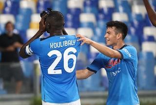 """Koulibaly stende la Juve e fa il fotografo: """"La vittoria è per i tifosi del Napoli, ci sono mancati"""""""