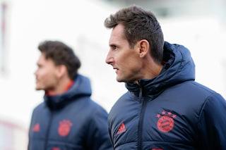"""Klose torna a sorridere dopo la trombosi: """"Sto bene e ora voglio ricominciare ad allenare"""""""