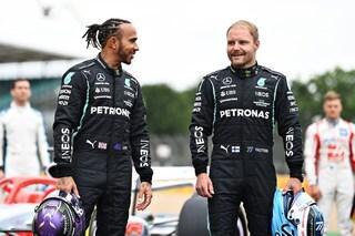 """Il toccante saluto di Hamilton a Bottas: """"Sei più grande di quanto pensi"""""""