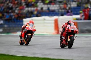 Bagnaia vince la battaglia corpo a corpo con Marquez: primo trionfo in MotoGP ad Aragon