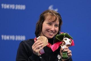 Xenia Palazzo ancora sul podio: quarta medaglia per la nuotatrice italiana alle Paralimpiadi