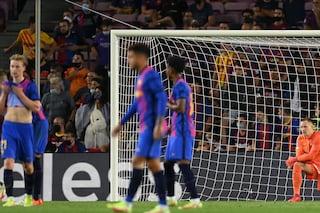 Il nuovo abisso del Barcellona, maltrattato dal Bayern al Camp Nou: zero tiri in porta