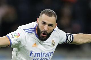 """Benzema a livelli mostruosi: """"Se il Pallone d'Oro è un premio serio, deve andare a lui"""""""