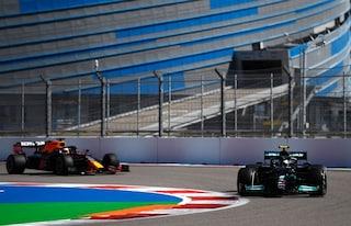 Mercedes domina anche nelle FP2 del GP di Sochi: Verstappen solo 6°, Ferrari a centro-gruppo