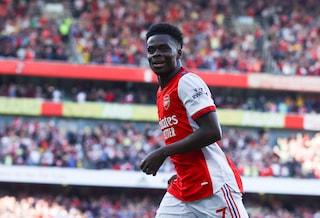 "Gli cantano: ""Hai deluso tutta l'Inghilterra"", Saka zittisce i tifosi del Tottenham"