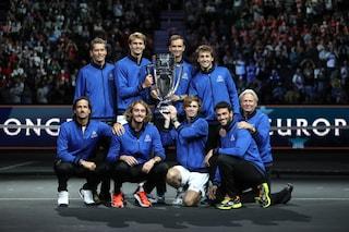 Il Team Europa trionfa ancora nella Laver Cup: netto 14-1 al Resto del Mondo