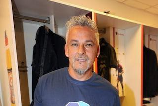 """""""Ma con che astronave sei arrivato"""": Baggio incontra il 'marziano' del calcio e si entusiasma"""