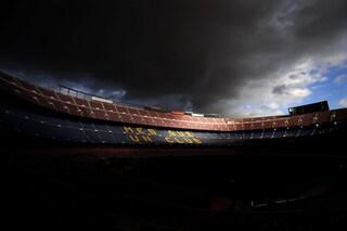 """La situazione del Barcellona è drammatica: """"luci spente"""" per risparmiare sull'energia elettrica"""