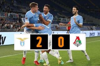 La Lazio passeggia con la Lokomotiv Mosca, ma Ciro Immobile si infortuna