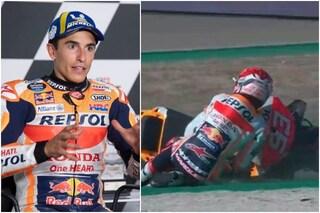"""Marc Marquez non sa più guidare come prima: """"Appena ci provo, cado"""""""