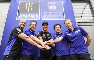 """Morbidelli torna in MotoGP a Misano da pilota ufficiale: """"Non vedo l'ora di iniziare con Yamaha"""""""