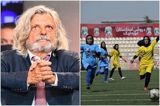 """La bella iniziativa di Ferrero: """"Sampdoria pronta ad ingaggiare una calciatrice afgana in fuga"""""""