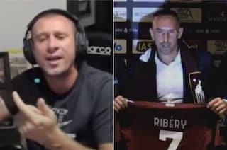 """La lezione di Cassano a Ribery: """"Bisogna smettere con dignità, senza figure di m***a"""""""