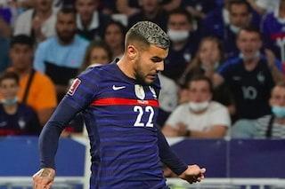Theo Hernandez 'perdonato' dalla Francia: esordio dal 1' dopo il caos con la Federazione