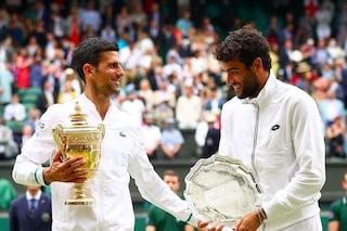 """Djokovic incorona Berrettini, ha un nuovo posto nel mondo: """"È il martello del tennis"""""""