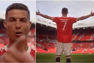 Cristiano Ronaldo all'Old Trafford, il messaggio da pelle d'oca ai tifosi