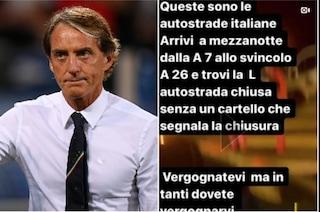 """Autostrade risponde a Mancini: """"In galleria lavorano uomini e donne, li vuole conoscere?"""""""