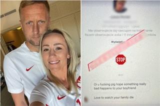"""""""Mi piacerebbe vedervi morire"""": i tifosi inglesi minacciano la moglie di Glik"""