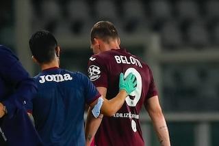 """""""Non riesce a correre ed allenarsi"""": l'infortunio di Belotti preoccupa il Torino"""