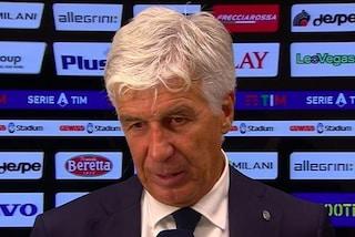 """Gasperini e l'Atalanta furiosi contro l'arbitro: """"Qualcuno ci spieghi il gol annullato"""""""