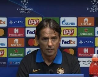 """Simone Inzaghi avverte il Real Madrid: """"L'Inter giocherà con il coltello tra i denti"""""""