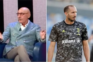 """Chiellini si fida della Juve di Allegri e Dybala , Graziani lo stronca: """"Una str****ta"""""""