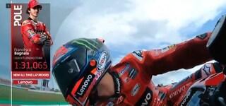 Griglia di partenza MotoGP GP Misano 2021, Bagnaia in pole dopo le qualifiche: Valentino Rossi 23°