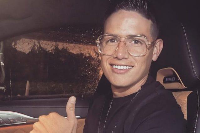 James Rodriguez beccato all'aeroporto: trasferimento a sorpresa, addio Everton