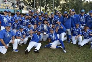 L'Italia vince il bronzo agli Europei di Baseball, oro per l'Olanda