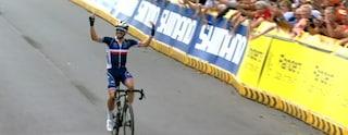 Alaphilippe fa il bis e vince ancora il Mondiale di ciclismo, azzurri lontani