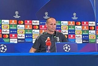 """Juve-Chelsea, Allegri senza limiti. Messaggio alla Juve: """"Ho l'ambizione di vincere la Champions"""""""