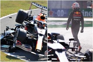 """La vendetta di Verstappen, oltre ogni limite su Hamilton: """"Se non lasci spazio succede questo"""""""