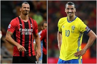 Lo strano caso di Ibrahimovic: per il Milan è infortunato ma la Svezia lo convoca in Nazionale