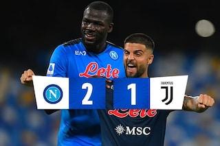 La Juve sbaglia due volte, il Napoli la punisce: decide ancora Koulibaly