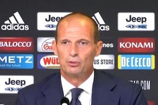 """Allegri e i piccoli passi della Juve: """"Vinto uno scontro salvezza, ora la Samp che è pari con noi"""""""