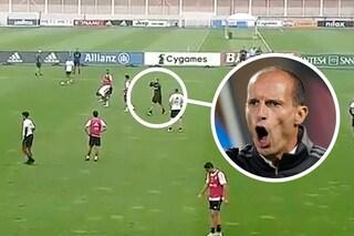 "Allegri indemoniato, stravolge la Juve urlando una sola parola: ""Abituatevi a giocare così"""