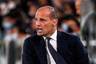 """È crisi Juve, allo Stadium l'impietoso coro dei tifosi del Milan: """"Tornerete in Serie B"""""""