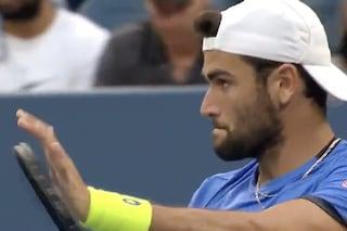 La grande sportività di Berrettini, vince agli US Open ma chiede di applaudire l'avversario