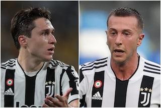 Chiesa e Bernardeschi tornano a disposizione, Allegri ha due armi in più per Juventus-Milan