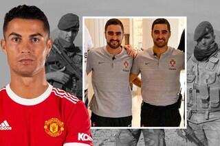 L'ossessione di Cristiano Ronaldo per la sicurezza: due gemelli ex Commandos lo seguono ovunque