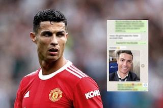 """Un intero programma TV su Haaland e Mbappé, Ronaldo la prende male: """"Mi ha mandato un Whatsapp"""""""