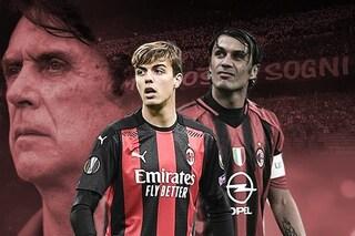 Daniel Maldini nel Milan dal 1': titolare in A nel nome di papà Paolo e nonno Cesare