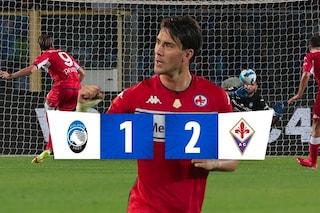 Rigori, Var e Terracciano show: colpo Fiorentina contro l'Atalanta che va ko in casa