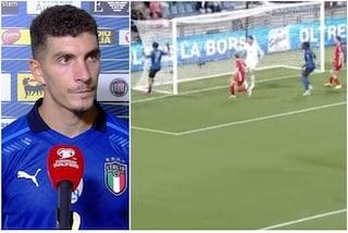 """Tutta l'onestà di Di Lorenzo: """"Ho fatto gol per caso, la verità è che volevo crossare"""""""