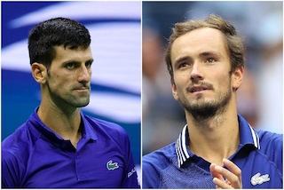 Finale Us Open 2021, oggi Djokovic-Medvedev: orari e dove vederla in TV