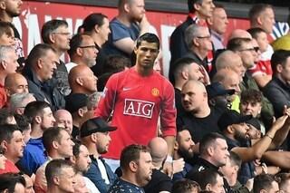 Cristiano Ronaldo cambia ruolo al Manchester United: non è più lo stesso giocatore