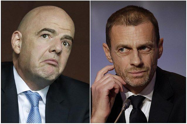 """""""Mondiali ed Europei ogni due anni"""": sale la tensione tra Fifa e Uefa"""