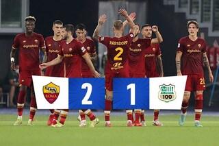 El Shaarawy fa esplodere l'Olimpico e Mourinho: la Roma batte il Sassuolo 2-1 all'ultimo respiro