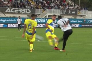 Il gol del pareggio dello Spezia mostra l'ennesimo errore commesso dalla Juventus